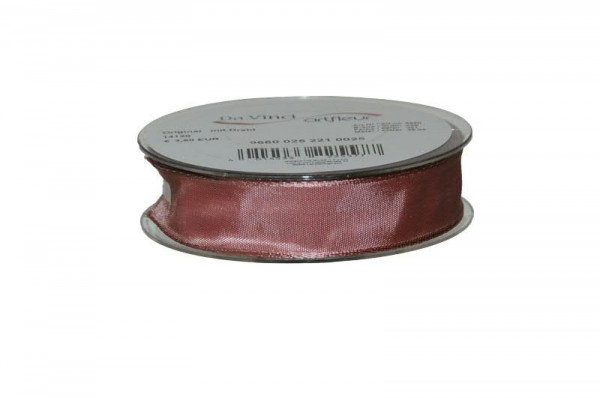 Band 9660/25mm 25m, 221 rosa