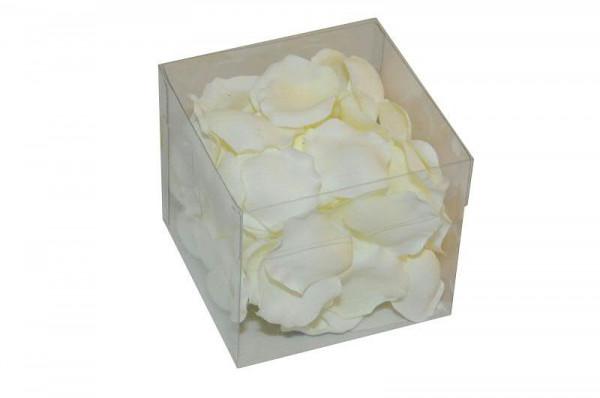 Rosenblätter 100St., weiß
