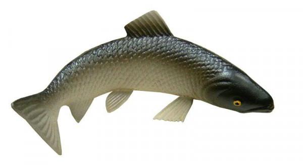 Fisch L20H9cm Plastik gebogen