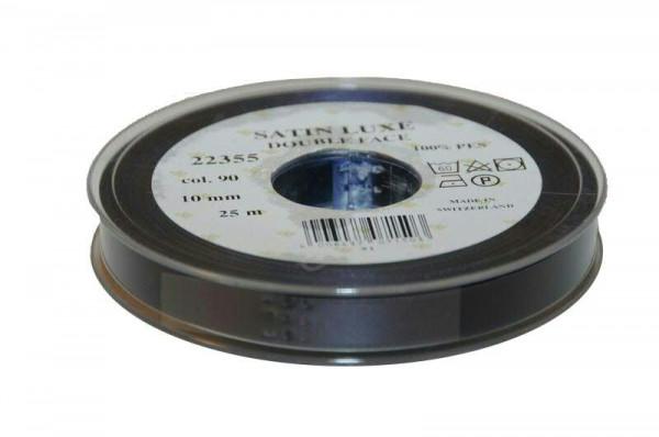 Band Satin 22355/10mm 25m, 090 d.blau
