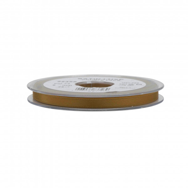 Band Satin 22355/06mm 25m, 073 goldbr