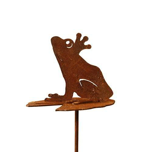 Rost Frosch 8/33cm a.Blatt z.Stecken
