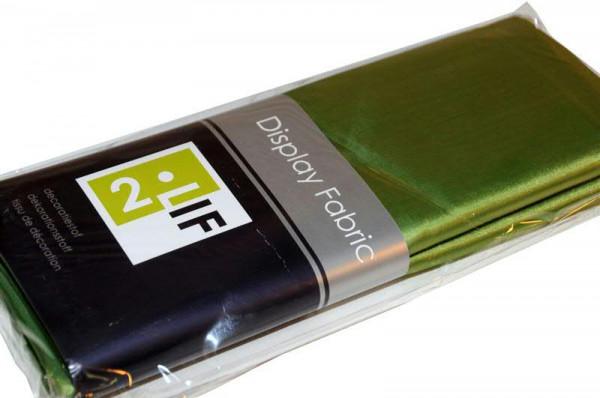 Stoff SP 150cmx3m Taft, grün