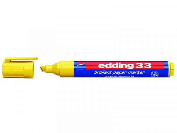 Edding SP 33 Papermarker brilliant, gelb