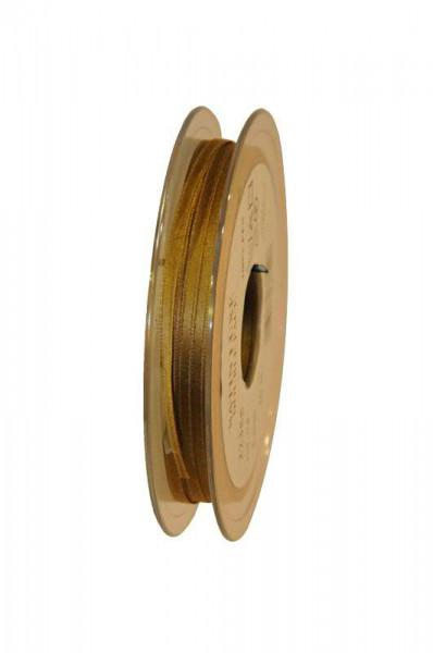 Band Satin 22355/03mm 50m, 073 goldbr