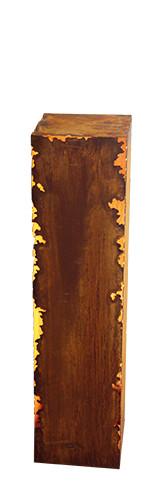 Rost Säule 20x20x80cm Gravina