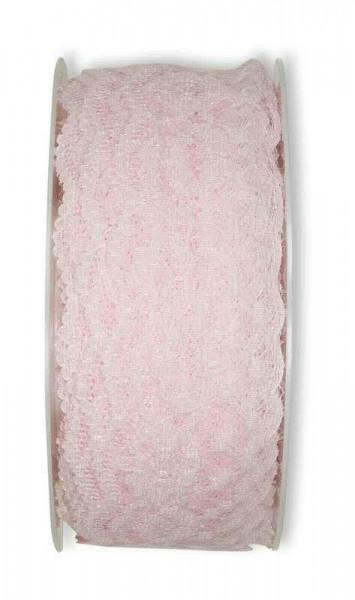 Spitze 2012/37mm 15m, 23 p.rosa