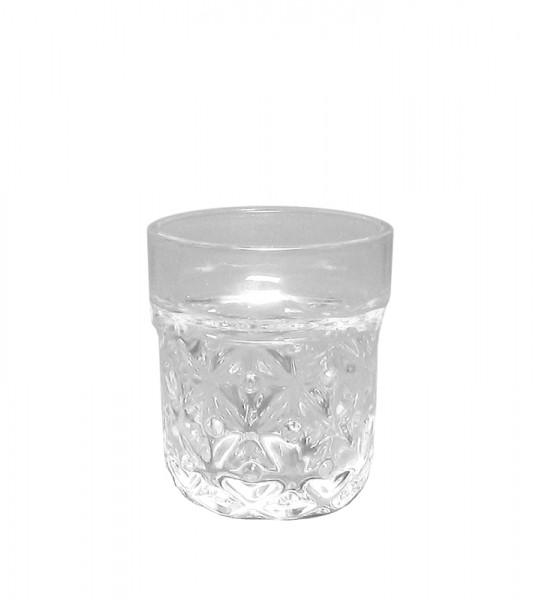Glas Topf H9,5D11,5cm, klar