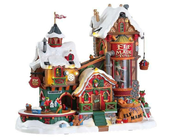 Elf made toy factory
