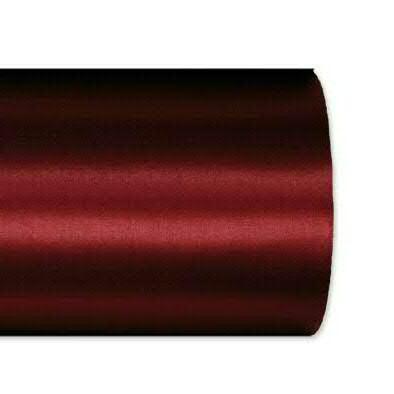 Kranzband 2601/125mm 25m Satin, 765 d.rot