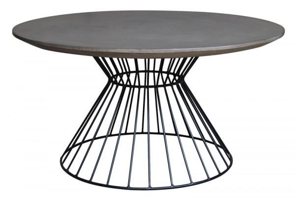 Coffeetisch MT254 H46cm D90cm SP, zement