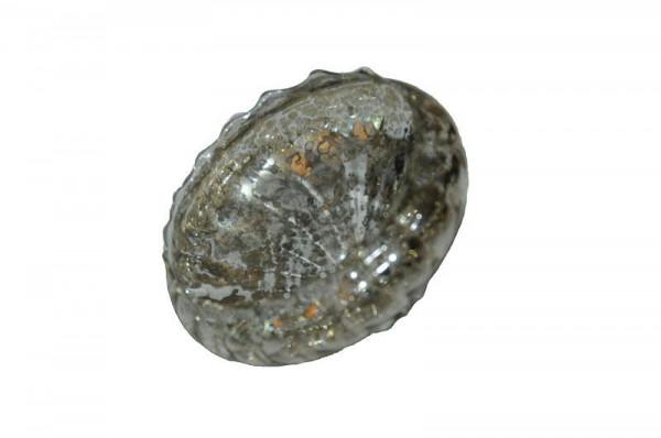 Glas Schwimmschale D7,5H4cm, silber