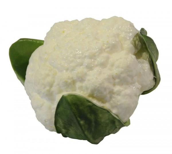 Blumenkohl 13cm, grün/weiß