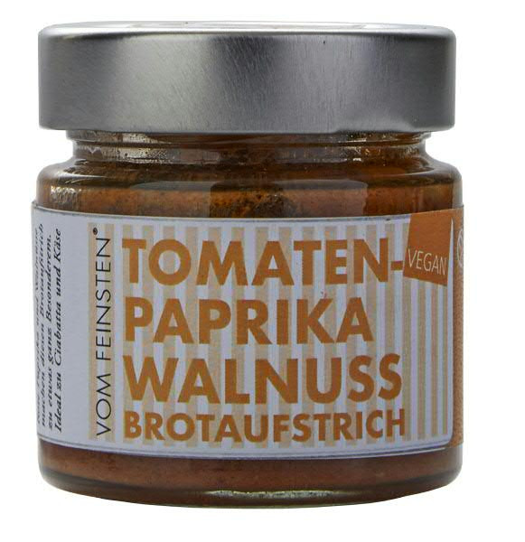 Brotaufstrich Tomatenpaprika-Walnuss 125g | vegan