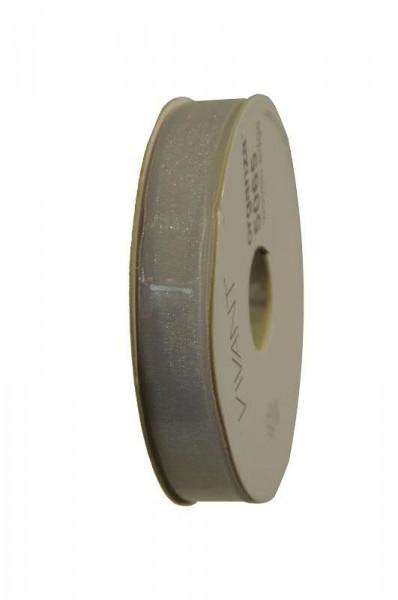 Band Organza 5065/15mm 50m, 00 weiß