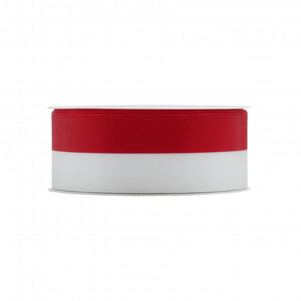 Band 8000/040mm 25m, rot/weiß
