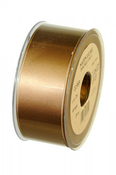 Band Satin 22355/40mm 25m, 029 schlam