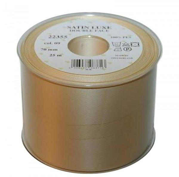 Band Satin 22355/70mm 25m, 009 creme